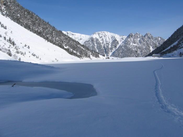traversee du lac de gaube