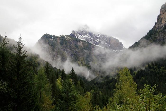 Brouillard au dessus de Sixt-Fer-A-Cheval
