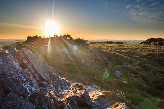 Levé de soleil au Roc Trevezel