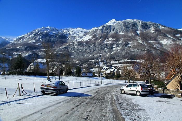 Beaucoup de neige dans Luz début février