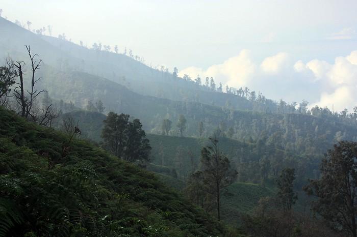 De beaux paysages en Indonésie