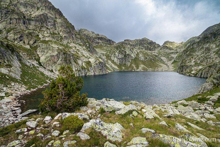 Lac Nère dans les Hautes-Pyrénées