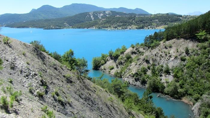 Lac de Serre Ponçon, Alpes françaises