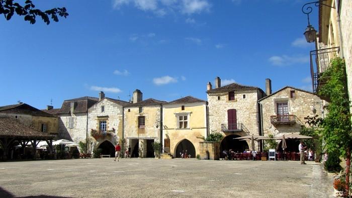 Bastide de Monpazier, Dordogne