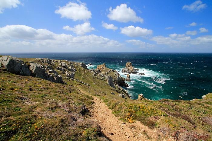 Randonnée en Bretagne le long de la mer