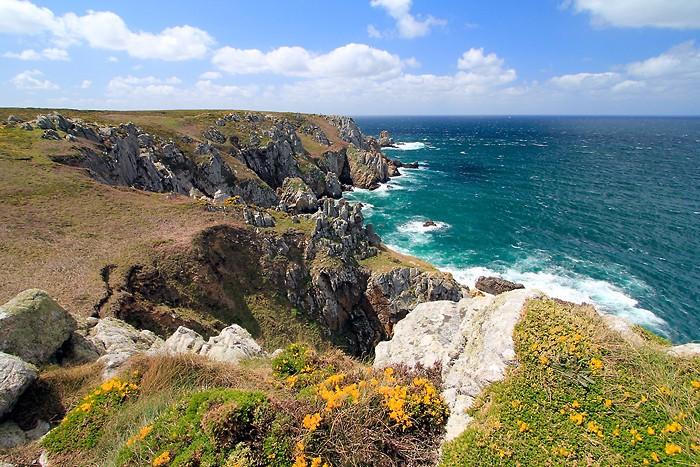 Randonnée en Bretagne le long de l'océan