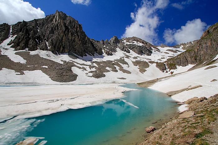 Magnifique lac des Béraudes