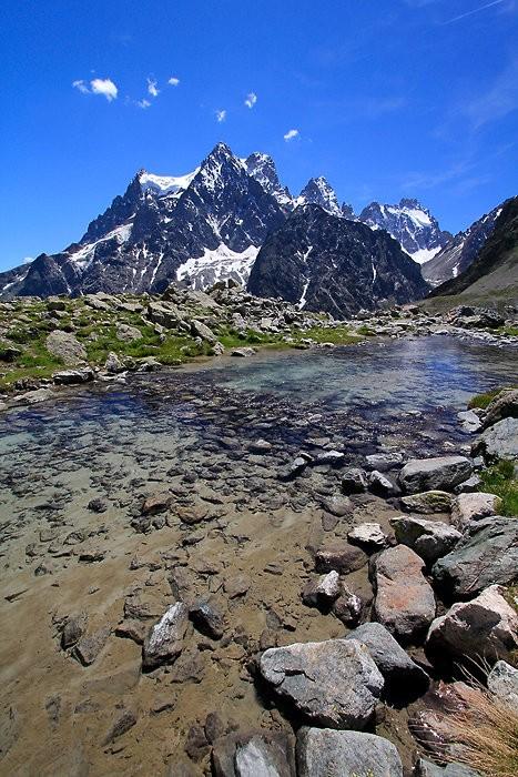 Lac Tuckett dans les Hautes-Alpes
