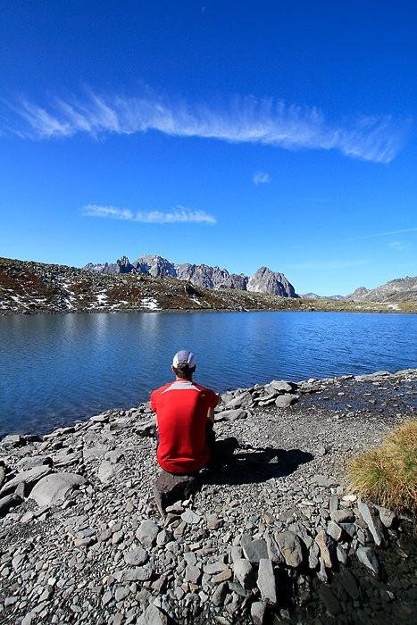 Contemplation au lac Rond