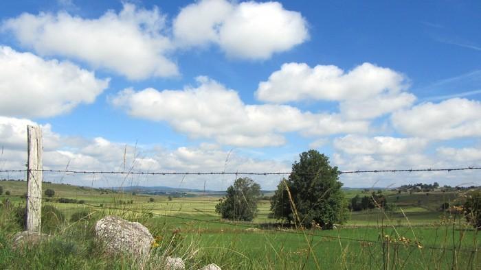 Le Plateau de l'Aubrac, près de Nasbinals