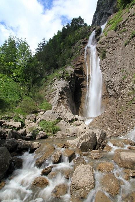 Cascade de l'Arpenaz à Sallanches