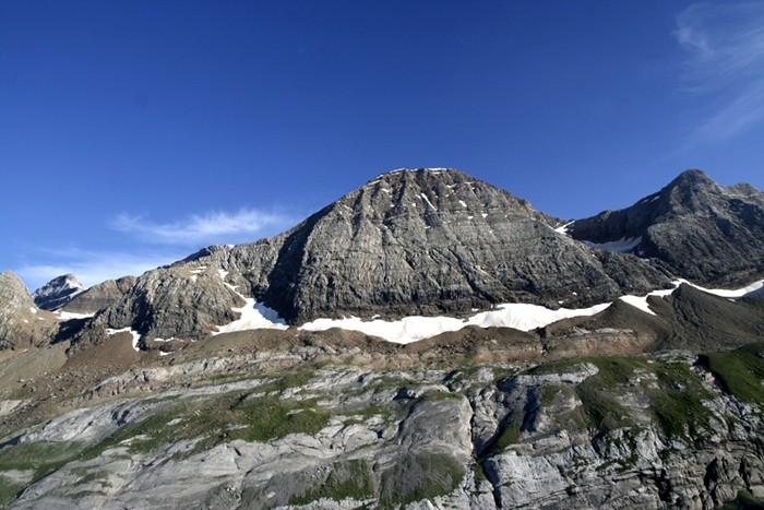 Le Taillon depuis le Col de Tentes, Pyrénées