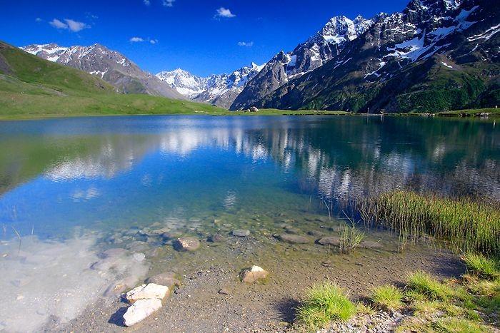 Belles couleurs du lac du Pontet