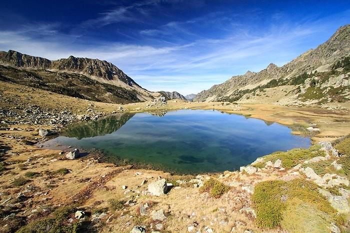 Lac de Coueyla Gran dans les Pyrénées
