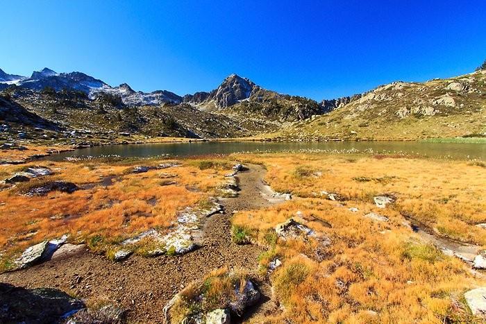 Petit lac à côté du lac de Tracens
