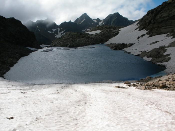 Lac de la Montagnette (2760 m) - Haute Tinée