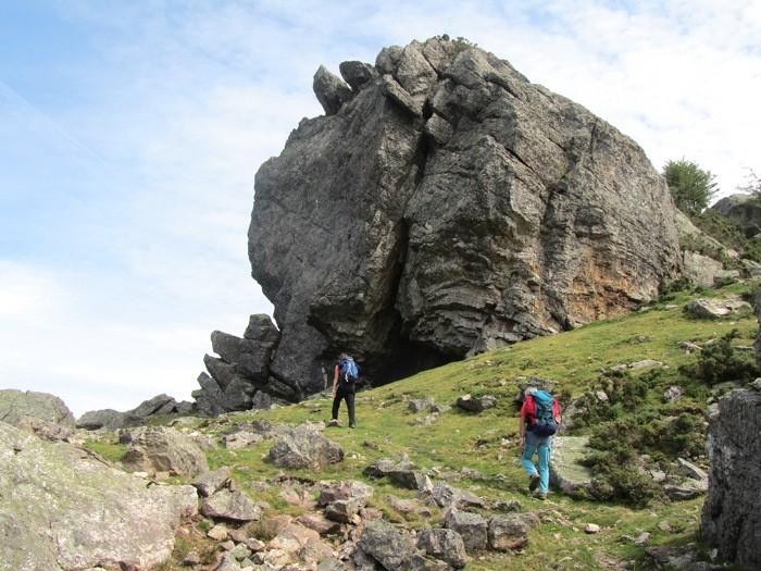 Randonnée au Mondarrain, dans le Pays Basque