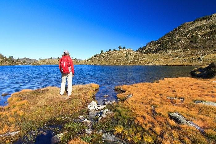 Au bord du lac de Tracens
