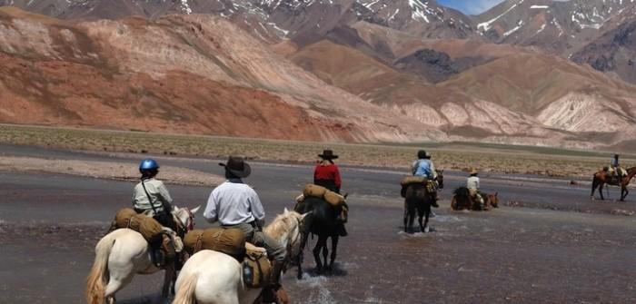 Randonnée équestre du Chili à l'Argentine