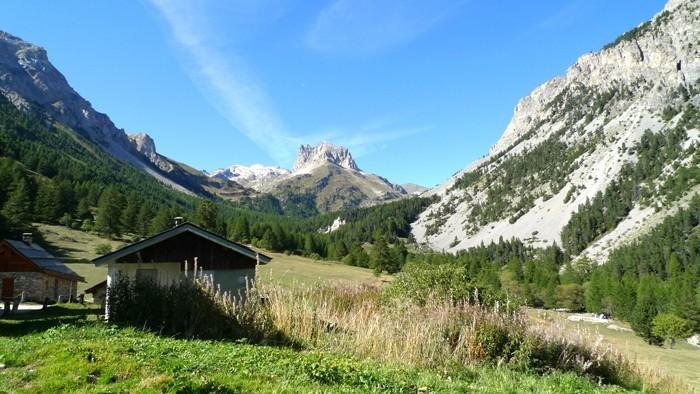 Mont Thabor vu depuis le chemin qui amène au Lac Vert, Alpes
