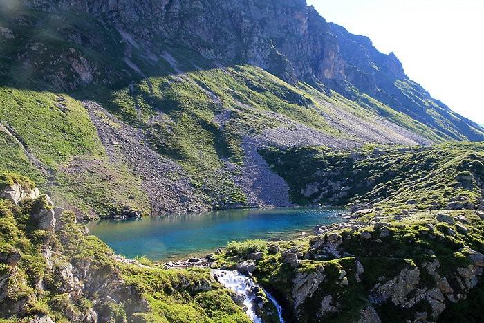 Arrivée au lac d'Antarrouyes