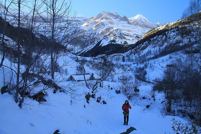 Randonnée raquettes : Randonnée en raquettes à neige à la cabane de Pailla