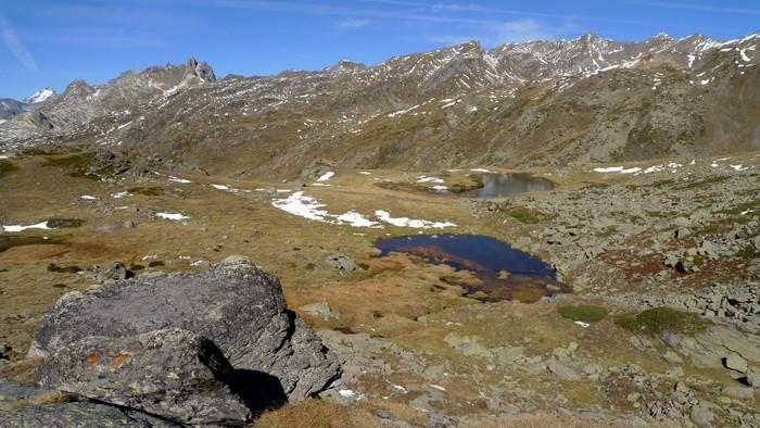 Rando aux lacs Long et Rond, vallée de la Clarée, Cerces