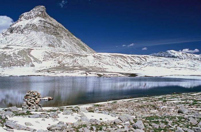 Lac de Lignin au mois de juin
