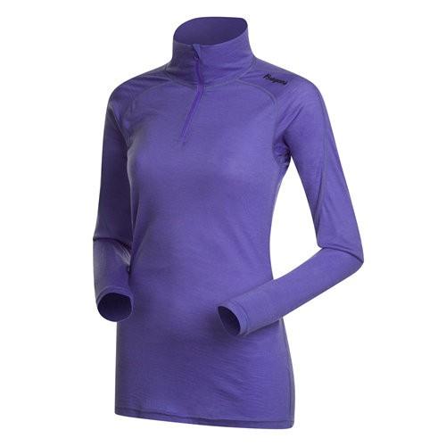 Soleie Half Zip Femme Primula Purple