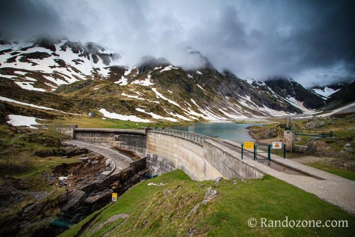 Randonnée au barrage d'Ossoue