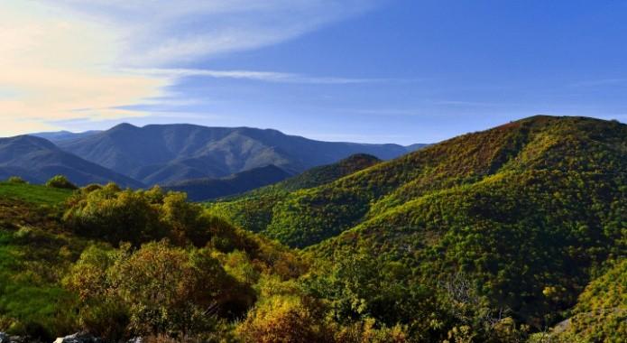 Ambiance des Cévennes vers le Monts Aigoual