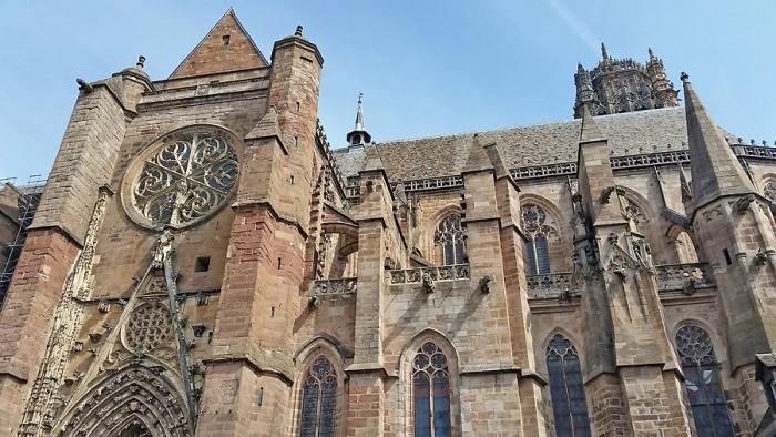 Cathédrale de Rodez, extérieur