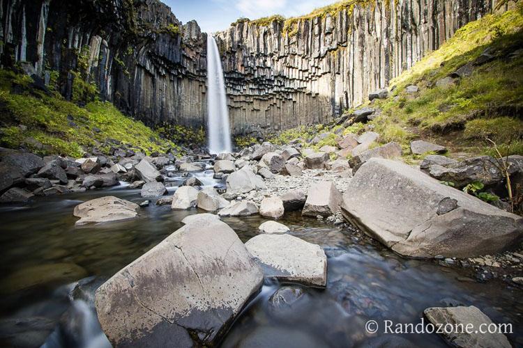 Randonnée pédestre : Circuit des cascades dans le Parc National de Skaftafell