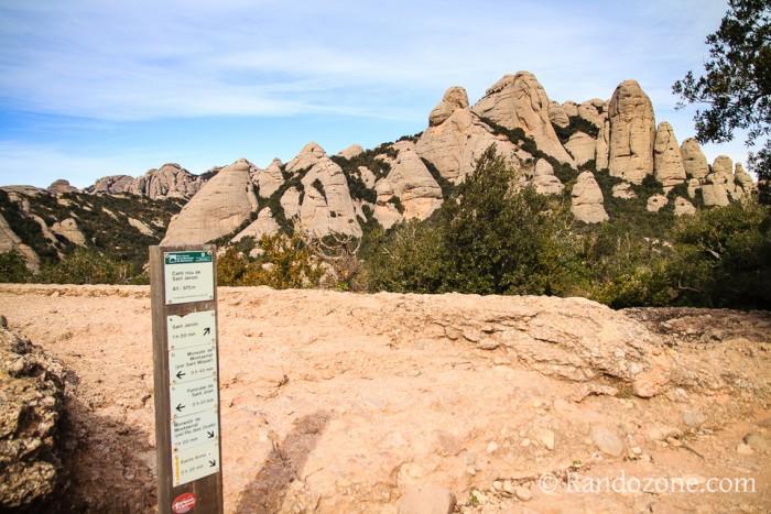 Randonnée pédestre : Randonnées dans les Montagnes de Montserrat