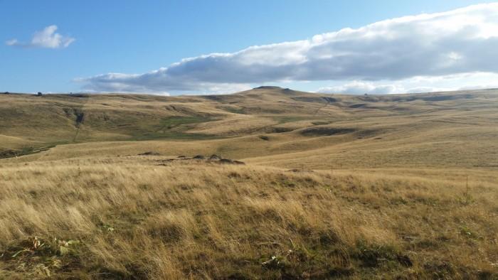 Randonnée panoramique près de Nasbinals