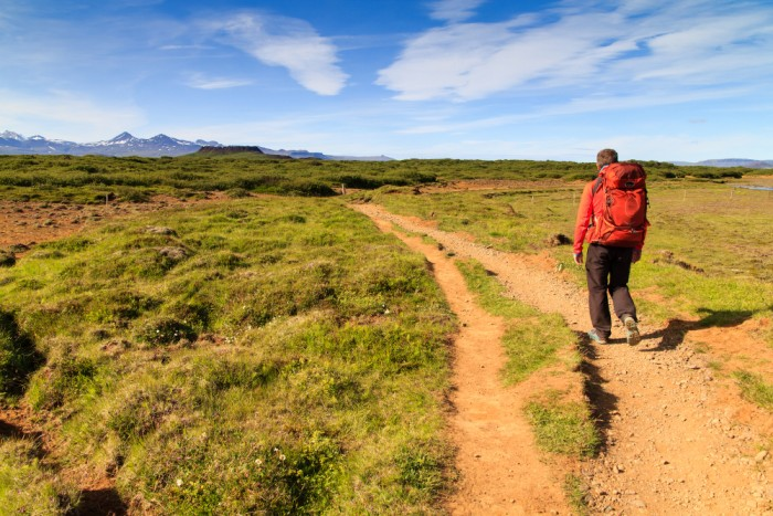 Randonnée pédestre : Randonnée au cratère du volcan Eldborg