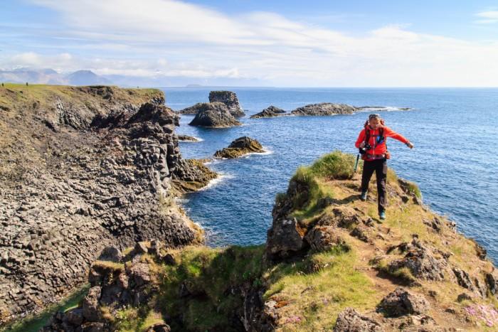 Randonnée pédestre : Randonnée sur la péninsule de Snæfellsnes à Arnarstapi