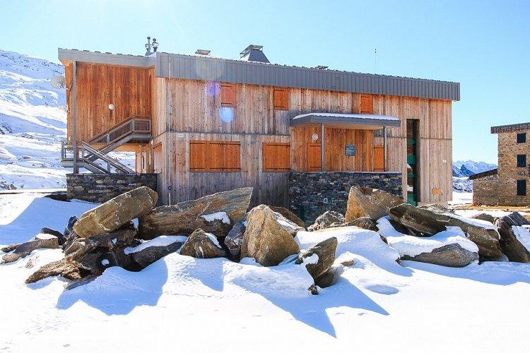 Refuge du col de la Vanoise fermé en novembre