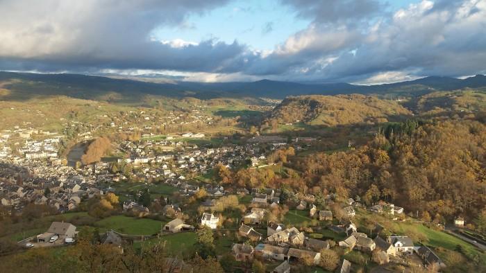Randonnée : Randonnée au château de Calmont d'Olt