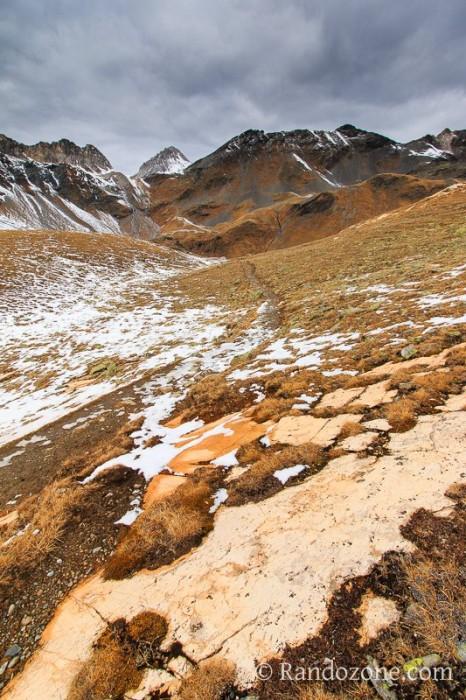 Randonnée jusqu'au lac Blanc