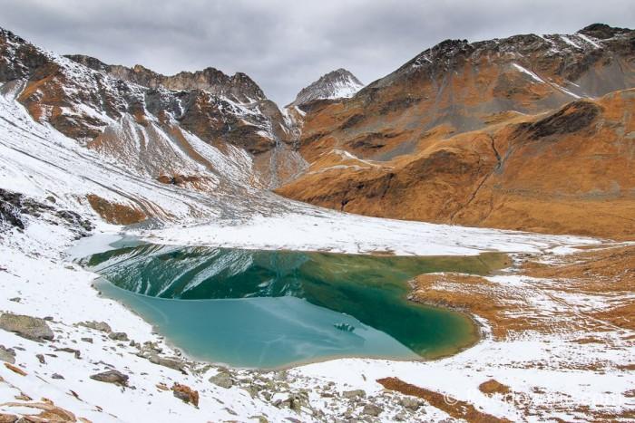 Randonnée au lac blanc de Polset