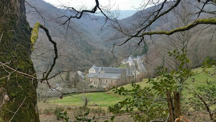 L'Abbaye de Bonneval où est fabriqué un très bon chocolat