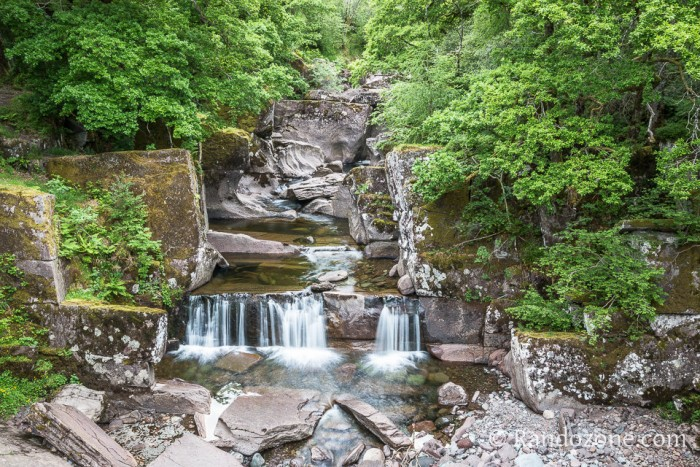 Randonn�e p�destre : Bracklinn falls : randonn�e pr�s de Callander