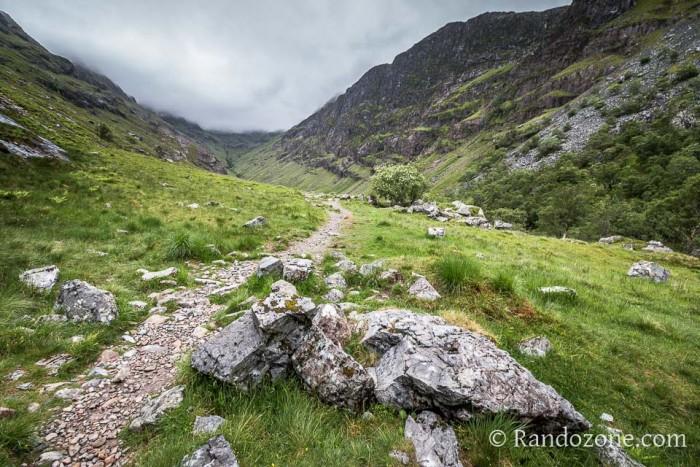 Randonnée : Lost Valley : randonnée autour de Glencoe