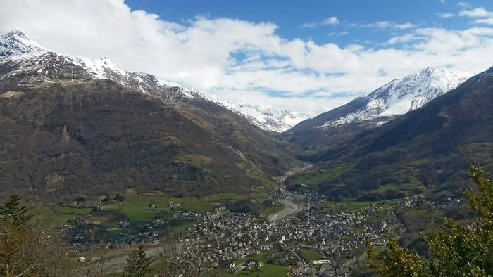 Randonnée panoramique depuis Agnouède
