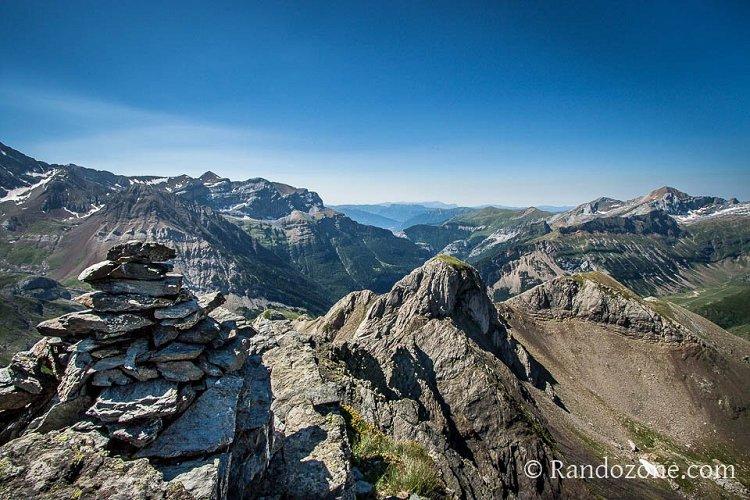 Panorama depuis le pic de la Bernatoire