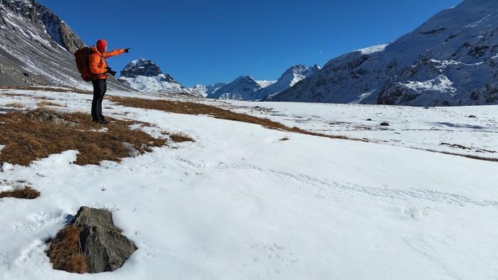 Randonnée au refuge du Col de la Vanoise