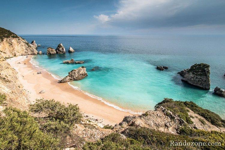 Randonnée entre Sesimbra et la plage de Ribeiro do Cavalo
