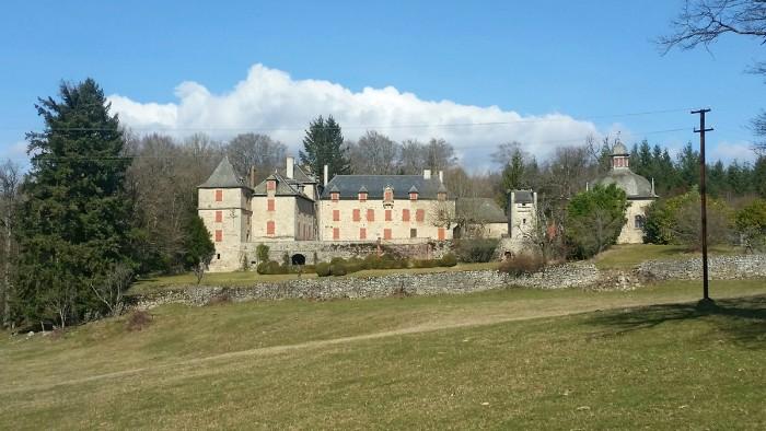 Le château de Vernhettes