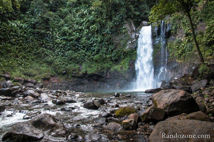 Troisième chute du Carbet en Guadeloupe